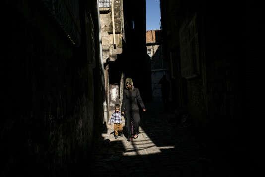 A Diyarbakir, dans le sud-est turc, à majorité kurde, le 1er novembre.