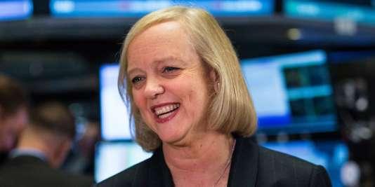 Meg Whitman, PDG de HP et future dirigeante de HPE.