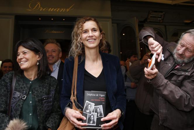 Delphine de Vigan le 3 novembre 2015.