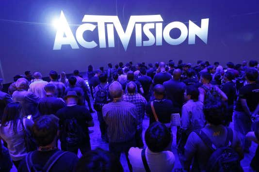L'éditeur de «Call of Duty» et «Skylanders» était présent au Salon du jeu vidéo E3 de Los Angeles, en 2014.