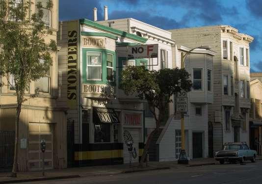 """A San Francisco, une pancarte marque l'opposition à la """"proposition F"""" qui visait à limiter les locations entre particuliers à 75 nuits par an."""