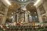 La messe de clôture du synode sur la famille à la basilique Saint-Pierre du Vatican, le 25 octobre.
