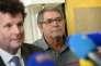 Pascal Fauret (à droite) et son avocat Jean Reinhart le 27 octobre 2015 à Paris.