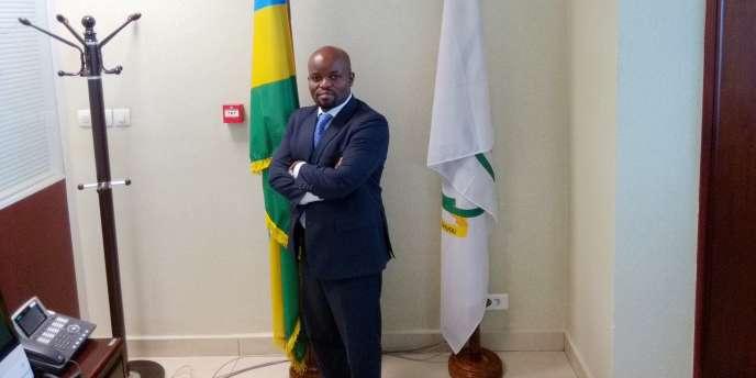 Le ministre rwandais de la jeunesse et des TIC, Jean Philbert Nsengimana