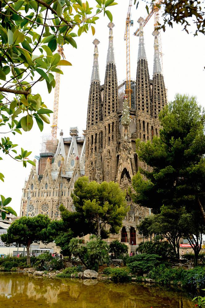 La Sagrada Familia, à Barcelone.
