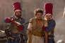 """Kev Adams dans le film français d'Arthur Benzaquen, """"Les Nouvelles Aventures d'Aladin""""."""