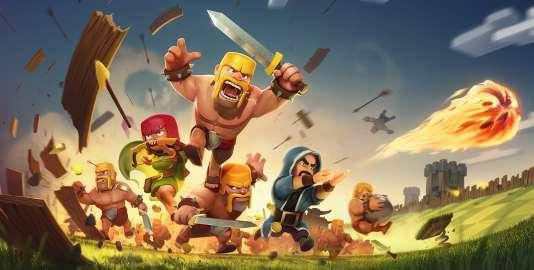 Lancé en 2012, Clash of Clans monopolise toujours la première place des jeux les plus rentables chaque mois en France.