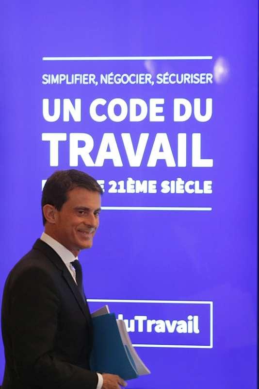 Manuel Valls le 4 novembre.