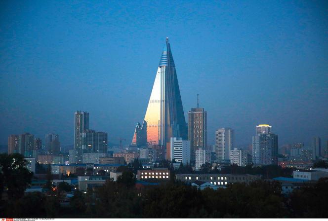 Le Ryugyong Hotel de Pyongyang.