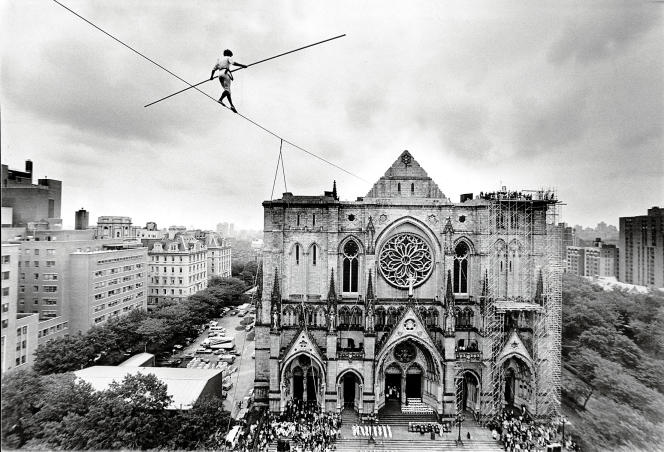 La Cathédrale Saint-Jean le Divin, à New York.