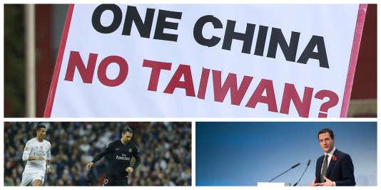 Chine-Taïwan, PSG battu, Brexit : l'actualité du 4 novembre à 8 heures.