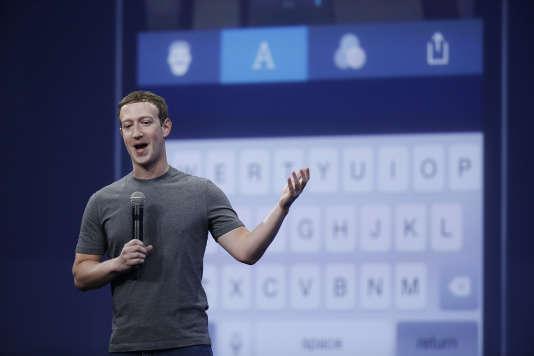 Mark Zuckerberg, fondateur et patron du célèbre réseau social. Les bénéfices de Facebook s'approchent du milliard de dollars