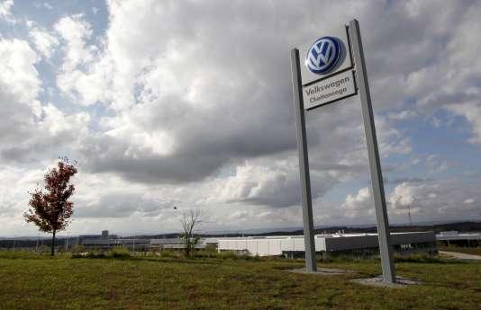 L'usine Volkswagen de Chattanooga, dans le Tennessee, aux Etats-Unis, le 4 novembre 2015.