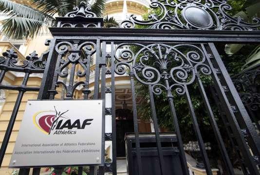 Les anciens locaux de l'IAAF, à Monaco.