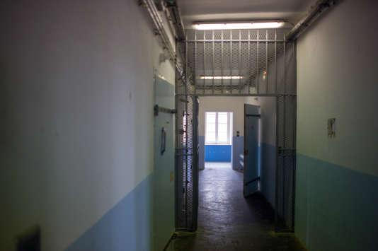La prison de  Lures, dans l'Est de la France, le 3 avril 2015.