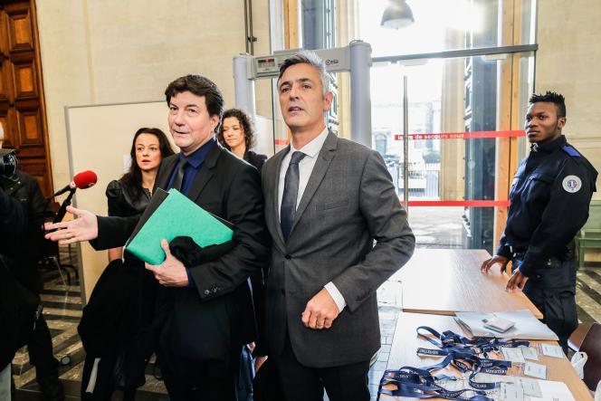 Pascal Bonnefoy , ancien majordome de Liliane Bettencourt, au tribunal de Bordeaux, le 3 novembre.