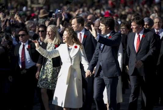 Justin Trudeau a prêté serment et est officiellement devenu premier ministre du Canada le 4 novembre.