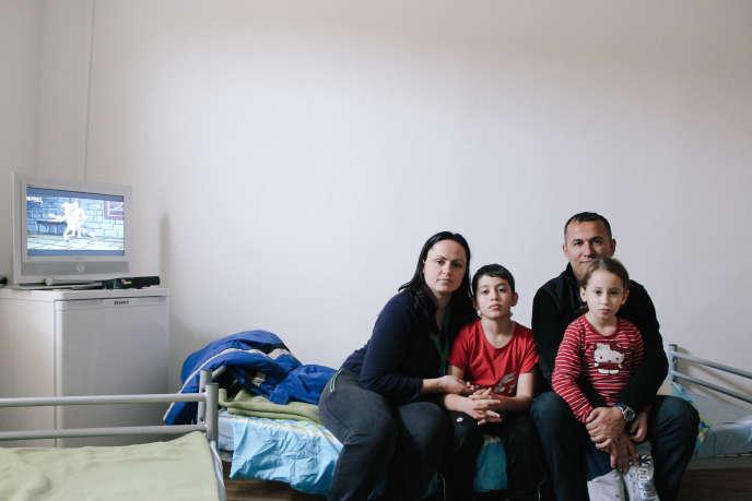 Après le refus de leur demande d'asile en Allemagne, les Agalliu ont signé pour un retour volontaire en Albanie.