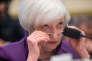 Janet Yellen, la patronne de la Réserve fédérale américaine, à New York, le 4 novembre.