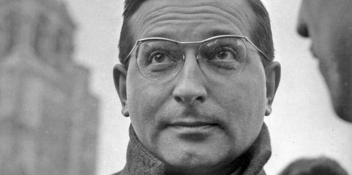 Jacques Peuchmaurd dans les années 1950.
