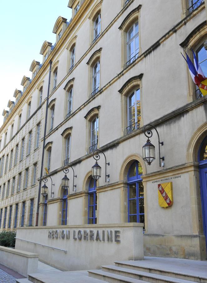 Le conseil régional de Lorraine, à Metz.