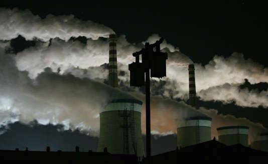 Une usine de charbon à Datong, en Chine, en novembre 2009.
