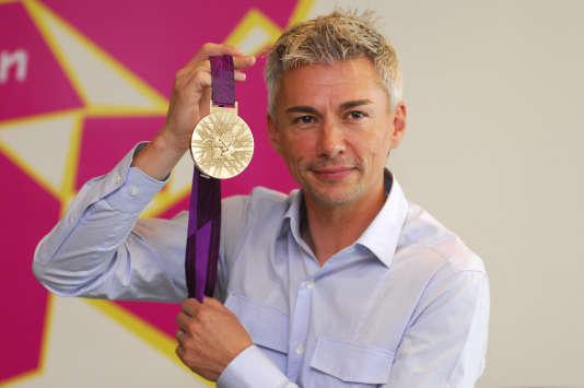 Lors des Jeux olympiques de Londres en 2012.