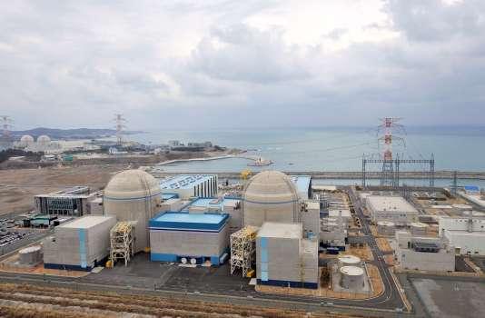 La centrale nucléaire de Shin-Kori, en Corée du Sud, en 2013.