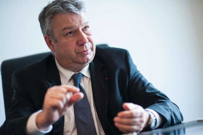 Dominique Lefebvre, à Paris en décembre 2014.