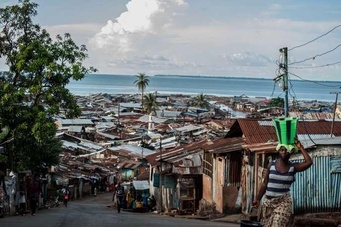 A Freetown, en octobre.