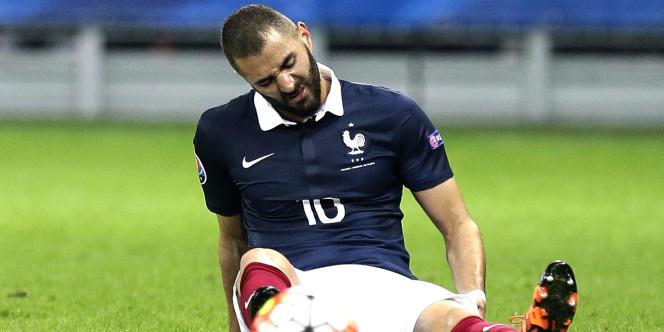 Karim Benzema, le 8 octobre à Nice contre l'Arménie.