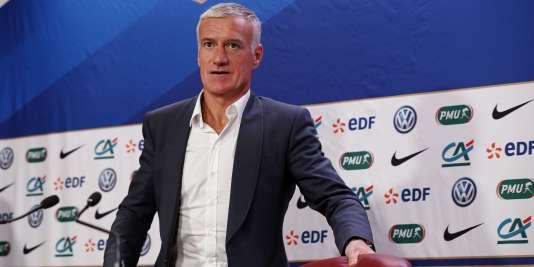 Le sélectionneur des Bleus, Didier Deschamps, le 5 novembre 2015.