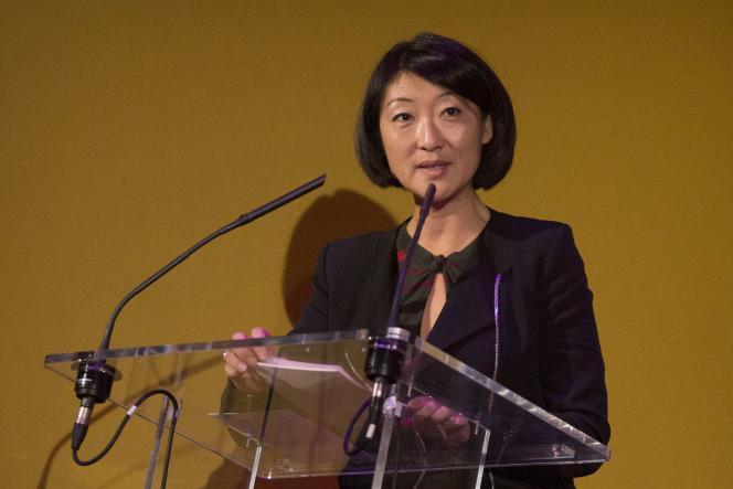 La ministre de la culture Fleur Pellerin le 5 novembre.
