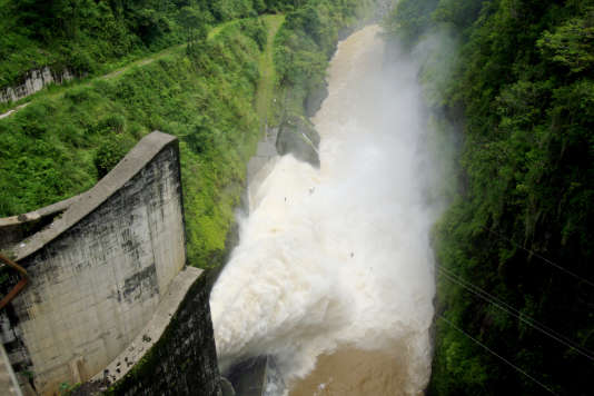 Barrage de Cachi à Ujarras de Cartago, au Costa Rica, en 2007.