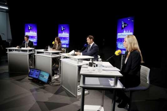 Débat La Provence Itélé Europe1 dans le cadre des élections régionales en présence de Marion-Maréchal Le Pen, Christian Estrosi, Christophe Castaner et Sophie Camar.