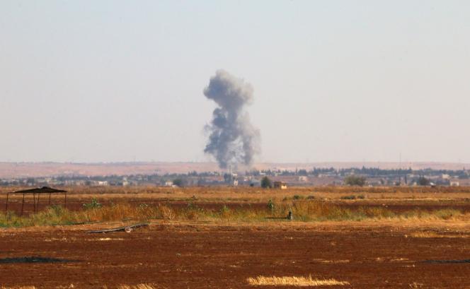A Marea, dans la province d'Alep, le 1er septembre 2015.