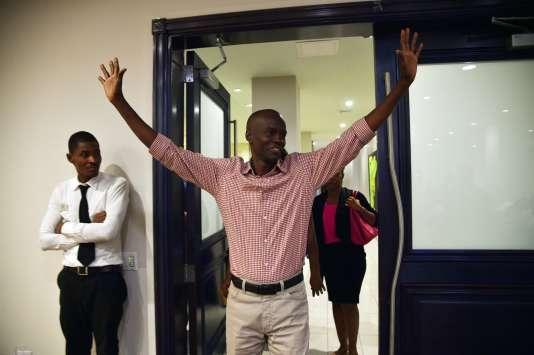 Jovenel Moïse, candidat soutenu par le pouvoir en place, est arrivé en tête du premier tour de la présidentielle haïtienne.