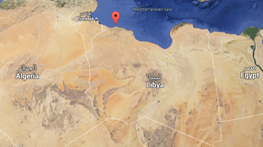 La capitale libyenne Tripoli.