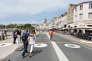 Le quai Duperré, qui borde le nord du vieux port, est réservé aux piétons depuis le mois de juillet.