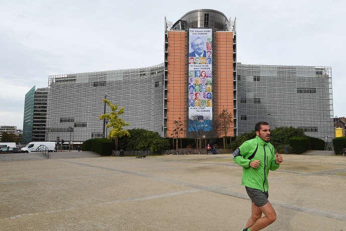 Le Berlaymont, siège de la Commission européenne, à Bruxelles, en novembre 2014.