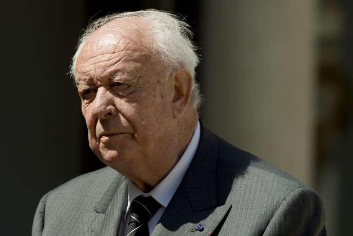 Jean-Claude Gaudin, en mai 2014, à Paris.