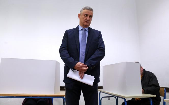 Tomislav Karamarko, président du HDZ et homme fort du gouvernement en tant que vice-premier ministre, à Zagreb, le 8 novembre 2015.