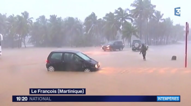 Capture d'écran du journal télévisé de France 3, samedi 7 novembre.