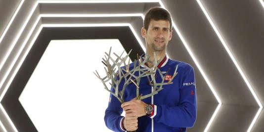 Novak Djokovic a remporté le Masters de Paris pour la troisième fois d'affilée.