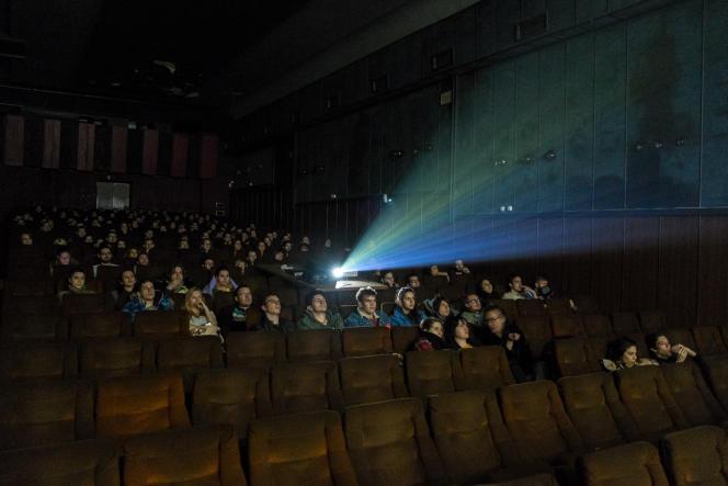 Le cinéma Zvezda, à Belgrade.