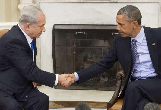 Retrouvailles crispées, lundi 9 novembre, entre Barack Obama et Benyamin Nétanyahou