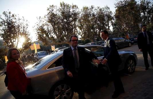 Artur Mas, le 9 novembre à Barcelone.