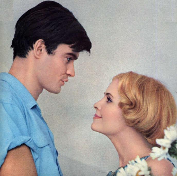 Jean-Claude Drouot et Marie-France Boyer dans le film français d'Agnès Varda,