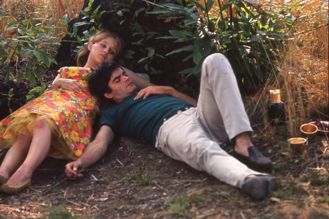 Marie-France Boyer et Jean-Claude Drouot dans le film français d'Agnès Varda,