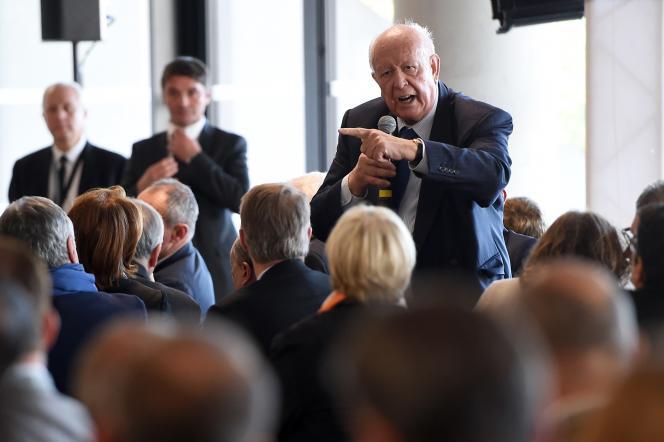 Le maire de Marseille, Jean-Claude Gaudin, le 9 novembre 2015.